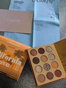 California Love Eyeshadow Palette : california, eyeshadow, palette, TRUSTED, SELLER, Colourpop, California, Eyeshadow, Palette, Authentic, Neutral
