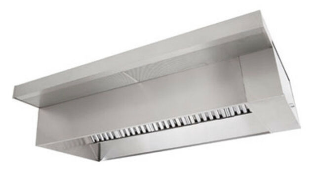 types of kitchen exhaust fans storage bins 6 type 1 commercial hood ebay wall canopy fan and supply package