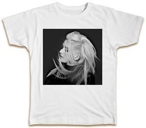 Image Is Loading Ellie Goulding Shaved Head T Shirt Pop Music