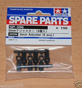 6 Pcs Neuf sous emballage Hotshot//Boomerang//Super Shot Tamiya 50596//0445005 5 mm d/'ajustement