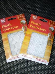 kitchen cabinet door bumper pads unique clocks plastic protectors/dots self adhesive buffers ...