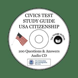 2019 US Citizenship Civics Test 100 Questions Answers
