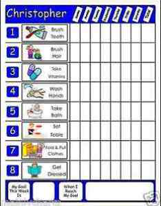 Image is loading chore chart  movable chores for multiple kids also wvable large family job rh ebay