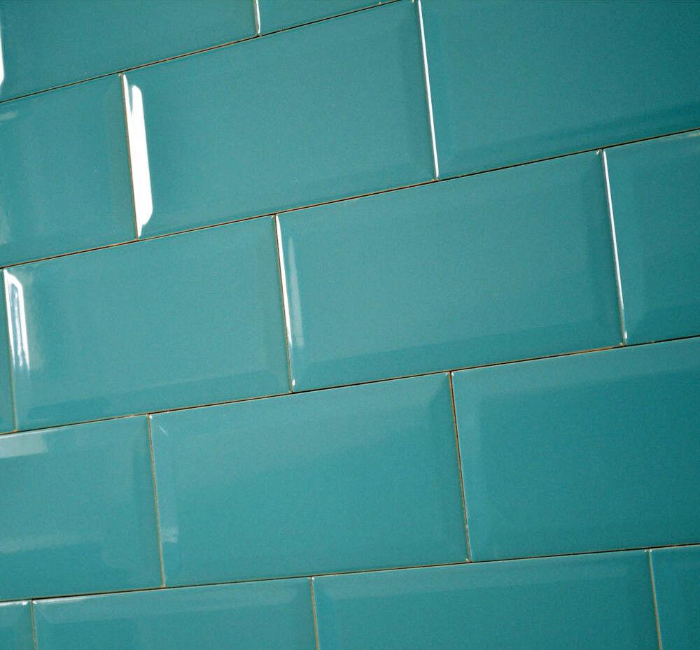 half cut sample victorian subway aqua