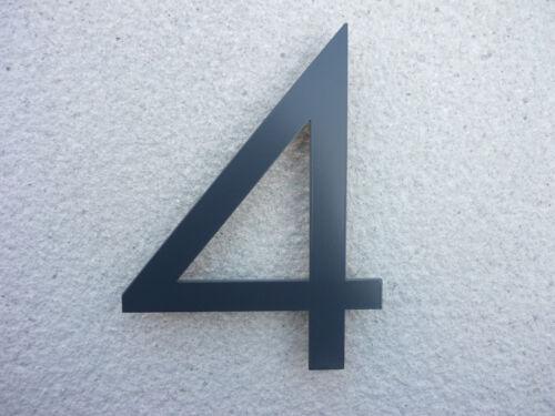 maison livraison gratuite neutraface anthracite aluminium maison numero pair 20cm rapide com