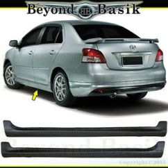 Bodykit All New Yaris Trd Grand Avanza Pertama 2007 08 09 10 2011 2012 Toyota 2pc Side Skirts Factory Image Is Loading
