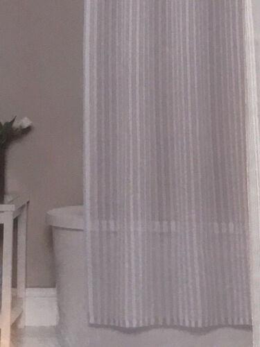 badezimmer montauk stripe home classics fabric shower curtain mobel wohnen elin pens ac id