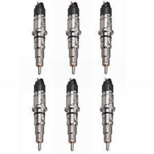 6PCS Diesel Fuel Injectors For 07-12 Dodge Ram Cummins 6