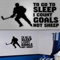 Hockey Wall Quote, Hockey players room decor,Hockey Wall ...