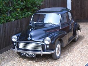 1961 MORRIS MINOR SALOON BARN FIND - RESTORATION PROJECT - NO RESERVE