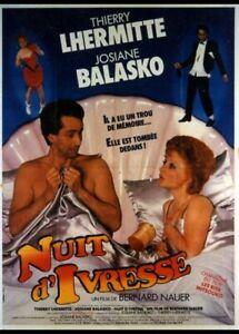 Nuit D'ivresse (film) : d'ivresse, (film), Affiche, D'IVRESSE, 120x160
