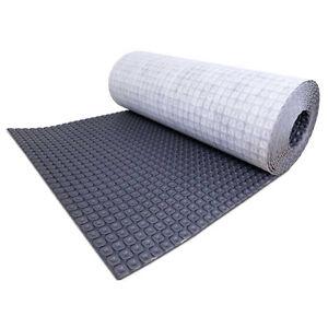 details about nuheat membrane uncoupling tile underlayment 54 sq ft roll