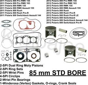 2011-2012 Polaris 800 Pro RMK Rush Switchback 85 mm SPI
