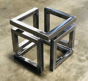details about coffee table legs metal modern end table
