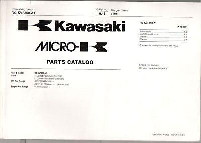 Parts List Parts Catalogue Kawasaki VN 1600 Mean Streak