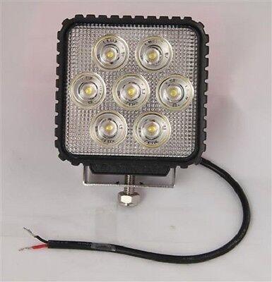 24v or 12v heavy duty 4x4 led lamp 12 or 24 volt work flood light smsqrled 4 x 4 ebay
