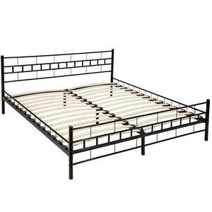 double metal cadre de lit super king size