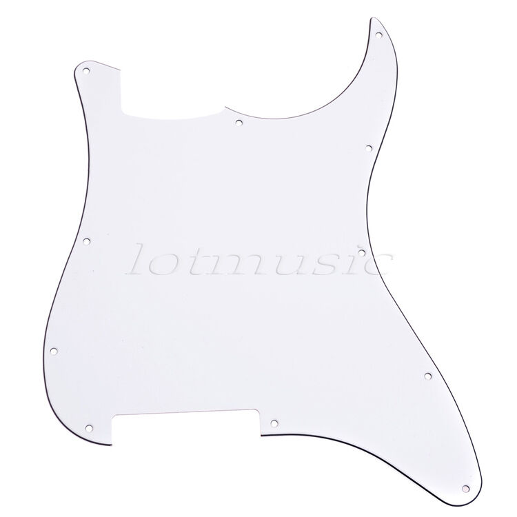 8pcs Blank Scratch Plate Pickguards For Fender Strat