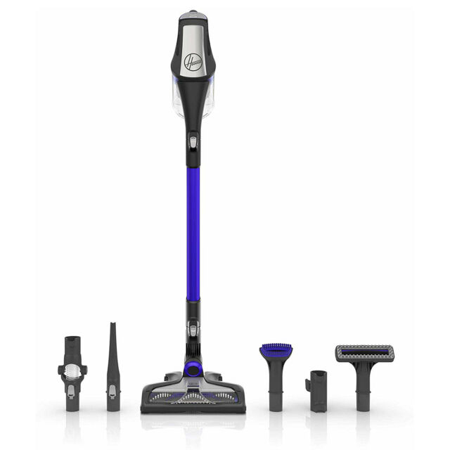 Hoover Fusion Pet Blue Cordless Stick Vacuum Cleaner For Sale Online Ebay