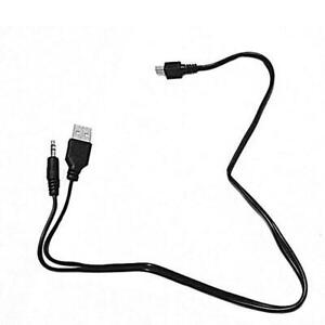 3.5mm Jack Aux Audio to Mini USB Cable Cord Adapter