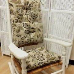 Indoor Rocking Chair Cushion Sets Wedding Cover Hire Scotland Set Outdoor Use Multi Color Floral Image Is Loading