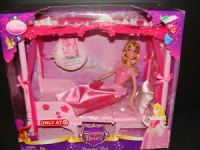 NEW Sleeping Beauty Princess Bed Doll Set Throne Disney ...