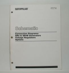 caterpillar sr4 sr4b generators schematic connection diagrams voltage reg for sale online ebay [ 1532 x 1600 Pixel ]