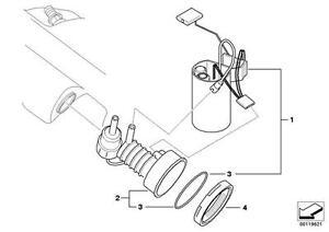 Genuine BMW Z4 E85 Fuel Filter + Pressure Regulator Repair