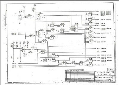 FANUC A20B-2000-0170 Schematic circuit diagram FANUC 0C