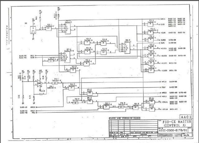 FANUC A20B-2000-0170 Schematic circuit diagram FANUC 0C