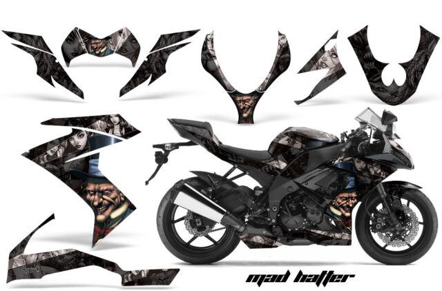 Street Bike Graphic Kit Decal Wrap For Kawasaki Ninja