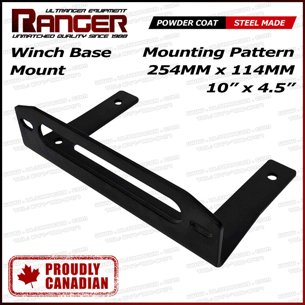 warn winch bolt pattern rockford fosgate punch p200 2 wiring diagram ranger base fairlead mount for jeep pickup bumper or flat bed the is designed to fit rope slot and 10 11 of most common aftermarket roller hawse
