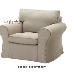 Ikea Replacement Chair Covers Reclining Office With Footrest India Ektorp Cover Armchair Slipcover Risane Natural