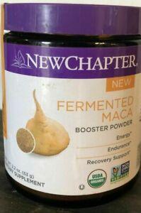 NEW CHAPTER FERMENTED MACA BOOSTER POWDER-2.2 OZ NOT ...