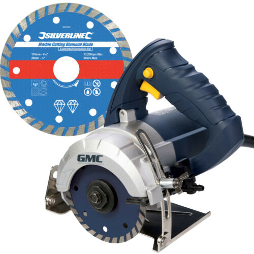 business office industrial gmc hand held wet stone cutter saw tile cutting machine kit with diamond blade saws