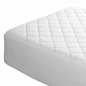 Image Is Loading 4ft Quilted Ed Mattress Protector Three Quarter Bed