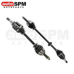 2x CV Joint Axle Assembly Front Fits Toyota Corolla XLE LE
