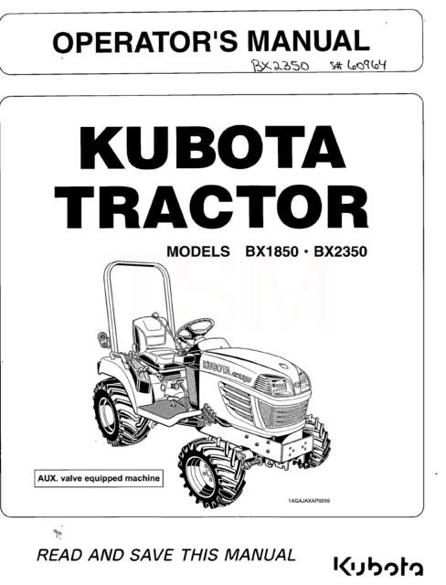 Woods Subframe for Bh80-x & Bh75 Backhoes on Kubota L3430