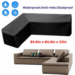 details about outdoor patio furniture cover l shaped sectional sofa cover waterproof dustproof