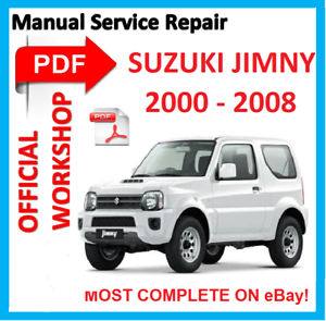 #OFFICIAL WORKSHOP MANUAL service repair FOR Suzuki JIMNY