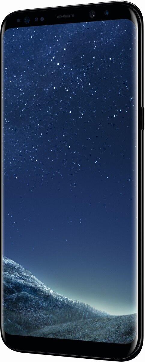 Samsung Galaxy S8+ Plus schwarz 64GB LTE Android Smartphone ohne Simlock 6,2″