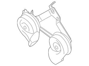 OEM NEW Horn Assembly 2-Tone Hi Low Armada Pathfinder