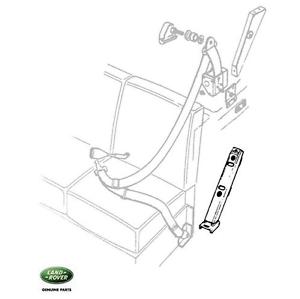 Land Rover Series/Defender Rear Seat Belt Anchor Bracket