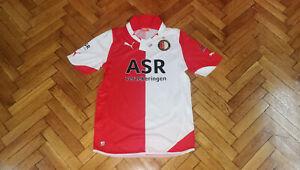 details about feyenoord rotterdam soccer jersey puma football shirt holland maillot trikot new