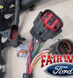 04 ford f250 f350 super duty 04 05 excursion 6 0l diesel engine wire harness oem for sale online ebay [ 1600 x 1200 Pixel ]