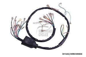 High Quality 6V Wire Harness Loom 4wire For Honda Cub C50 C65