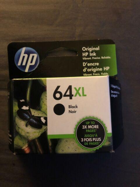 HP N9J92AN 64XL High Yield Ink Cartridge for HP Envy Photo - Black for sale online | eBay