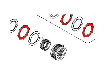 A41005 Transmission Disc (Steel) Fits Case 480 580 580B