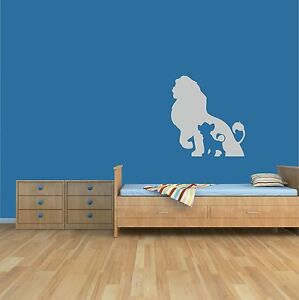 lion king wall art sticker home decor children s kid bedroom nursery