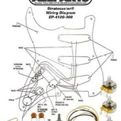 Guitar Pots Wiring Diagram 1998 Dodge Ram 2500 New Stratocaster Switch Kit For Fender Strat Ep Image Is Loading Amp